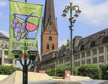 Stuttgarter Weindorf Sommer's Weinlaube
